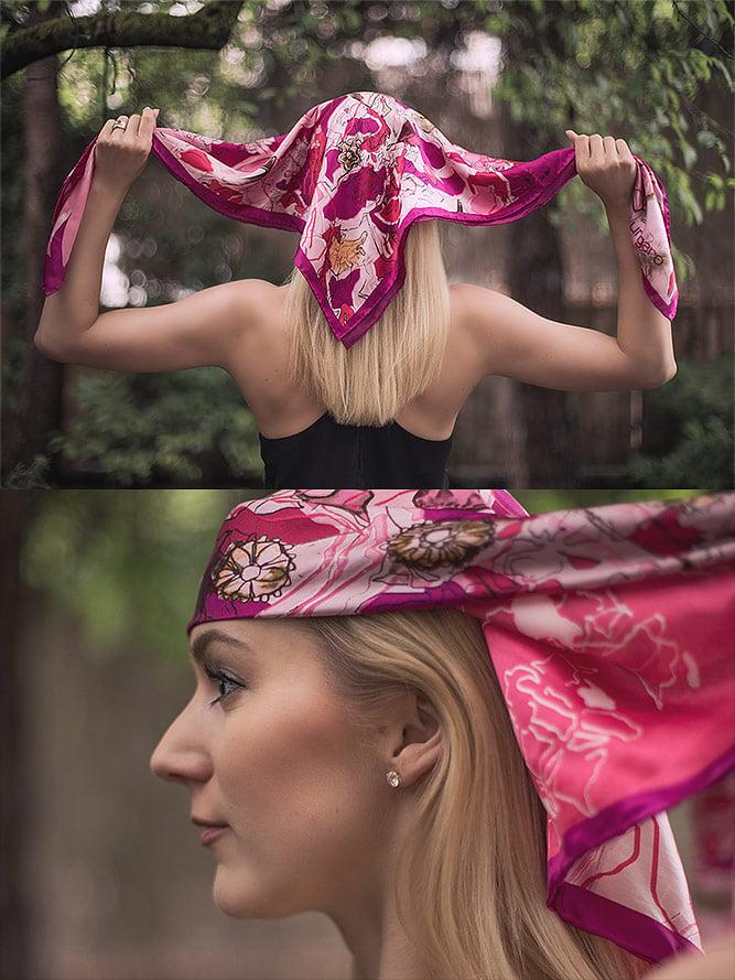Kopftuch binden Piratentuch binden