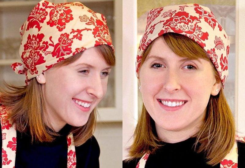 Kopftuch binden Arten Piraten kopftuch