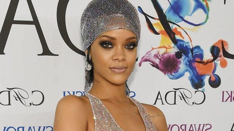 Kopftuch binden Rihanna Look