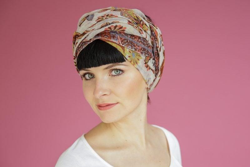 Kopftuch binden Turban