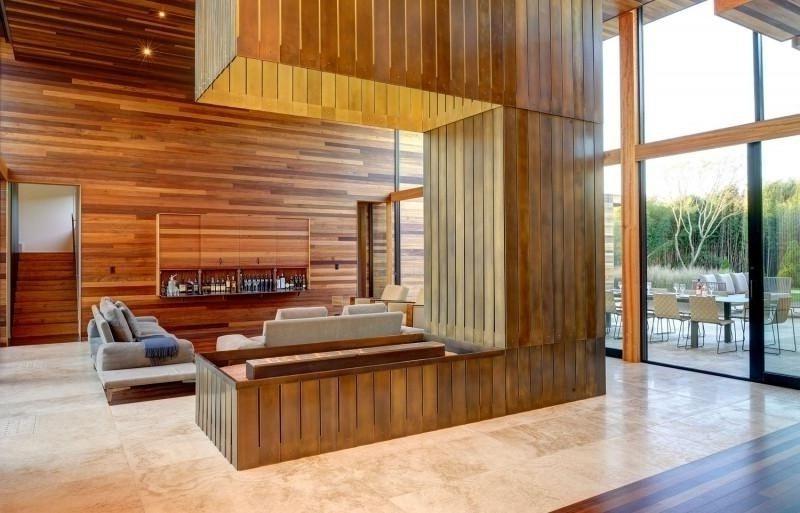 Travertin Fliesen Wohnzimmergestaltung