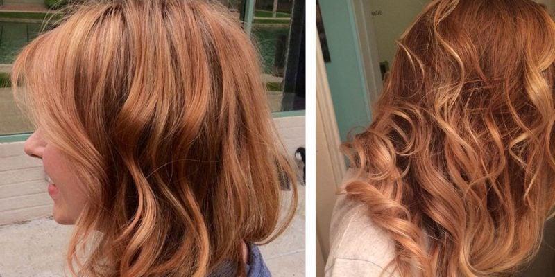 Kupferbraun Haarfarbe Hell