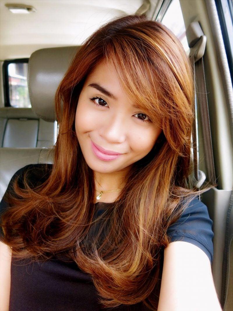 Kupferbraun Haarfarbe Trend