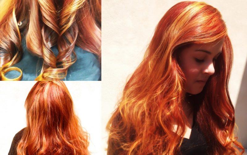 Kupferbraun Haarfarbe Intensiv