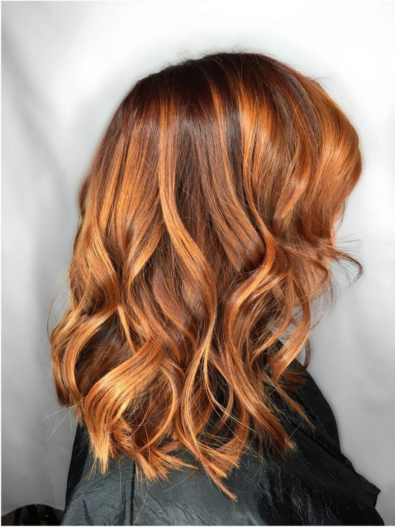 Frisuren farbe strahnchen