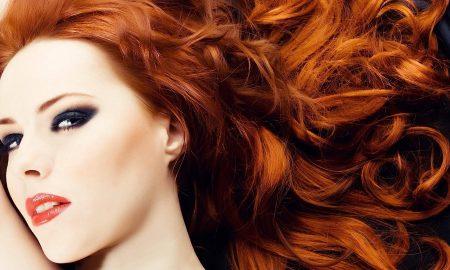 Kupferbraun Haarfarbe ist Trend für 2016