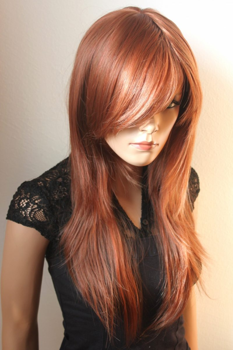 Kupferbraun Haarfarbe Stile
