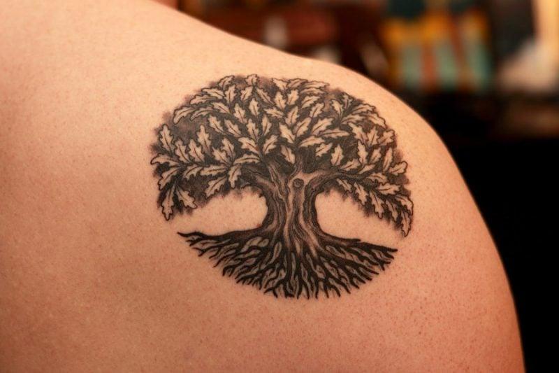 Lebensbaum Tattoo Ideen