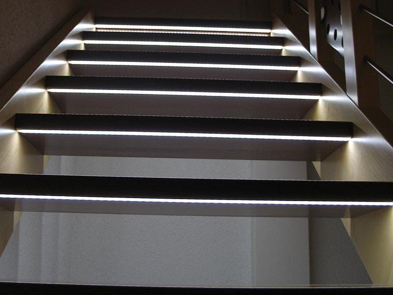 led treppenbeleuchtung verschieden