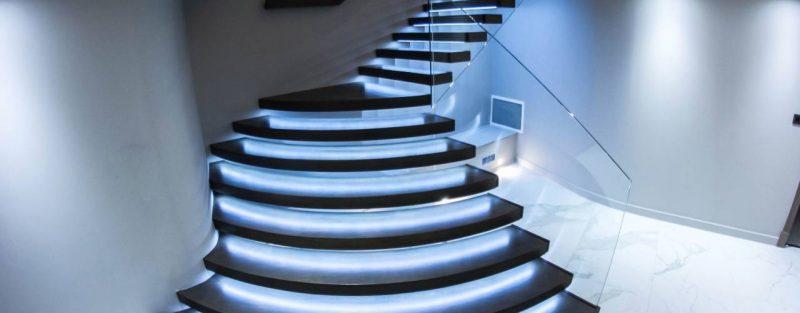 led treppenbeleuchtung modern
