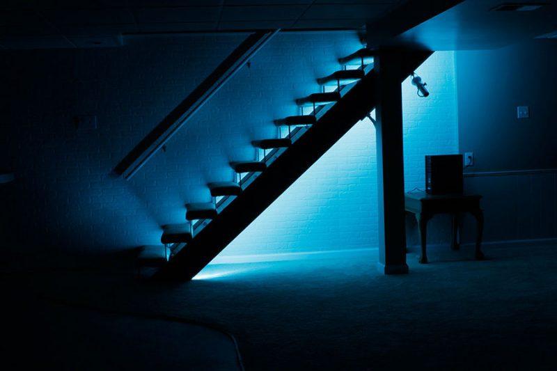 led treppenbeleuchtung blau