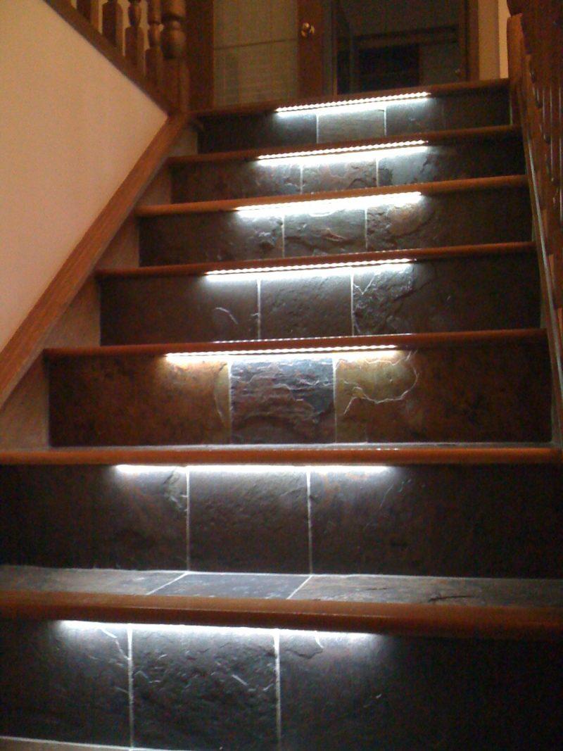 led treppenbeleuchtung stilvoll