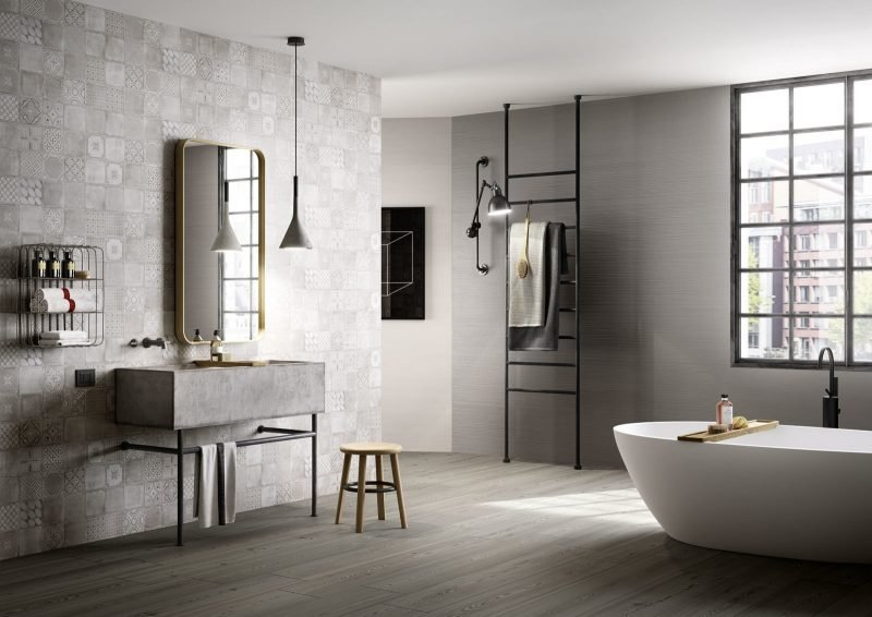 linoleum holzoptik 23 elegante interieurbeispiele. Black Bedroom Furniture Sets. Home Design Ideas
