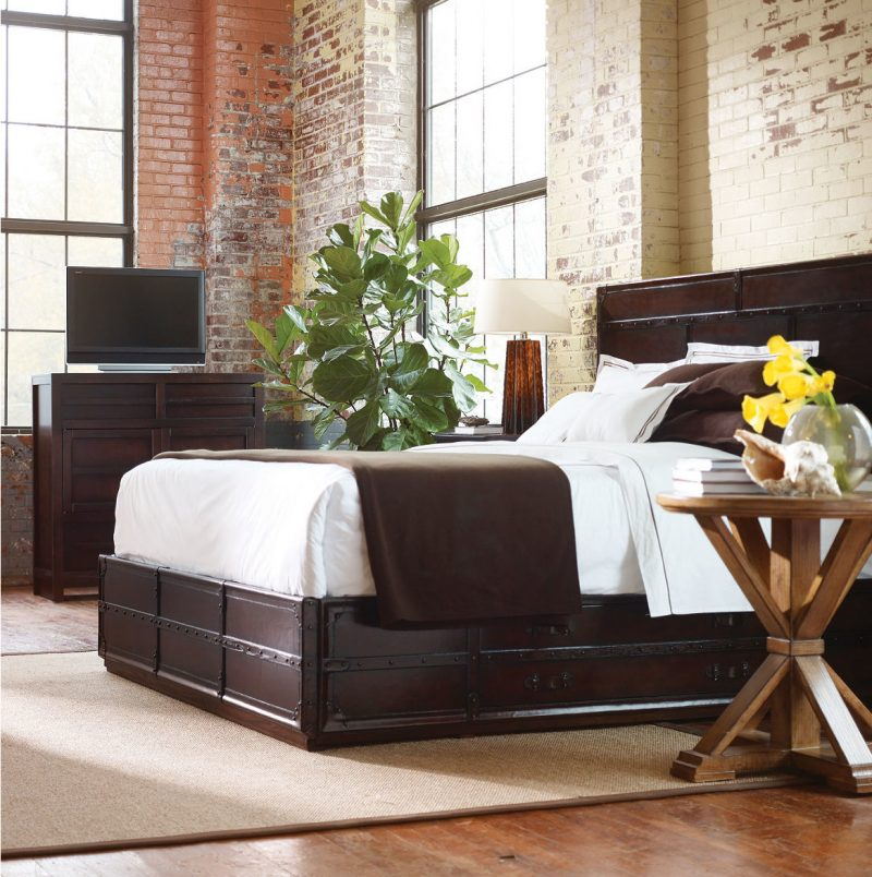 Loft Möbel Bett Design