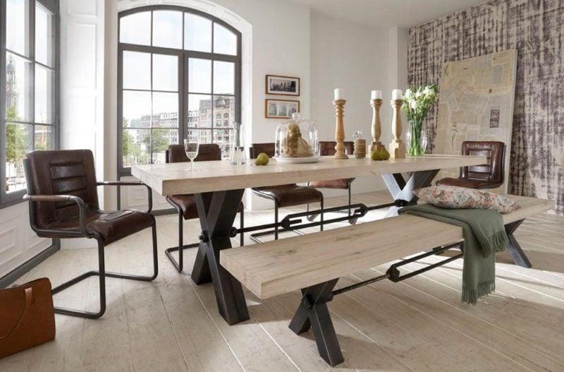 Loft Möbel aus Holz