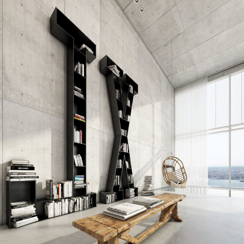 wohnen im loft 35 inspirationen f r loft m bel innendesign m bel zenideen. Black Bedroom Furniture Sets. Home Design Ideas