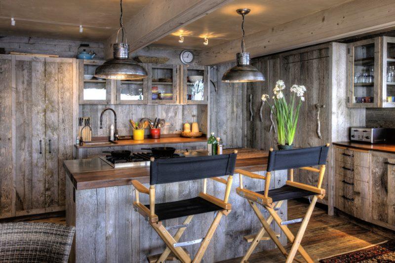Loft Möbel in der Küche