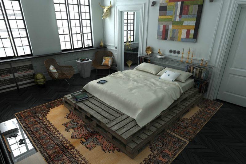 Loft Möbel Schlafzimmer