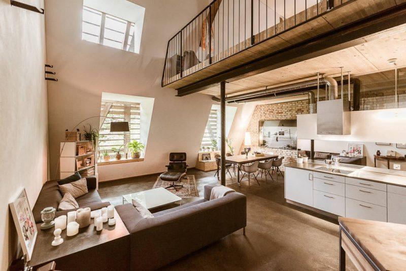 loftwohnung eine interessante und kreative wohnform deko feiern innendesign zenideen. Black Bedroom Furniture Sets. Home Design Ideas