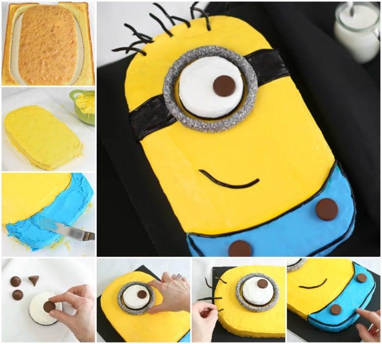 lustige torten gelb