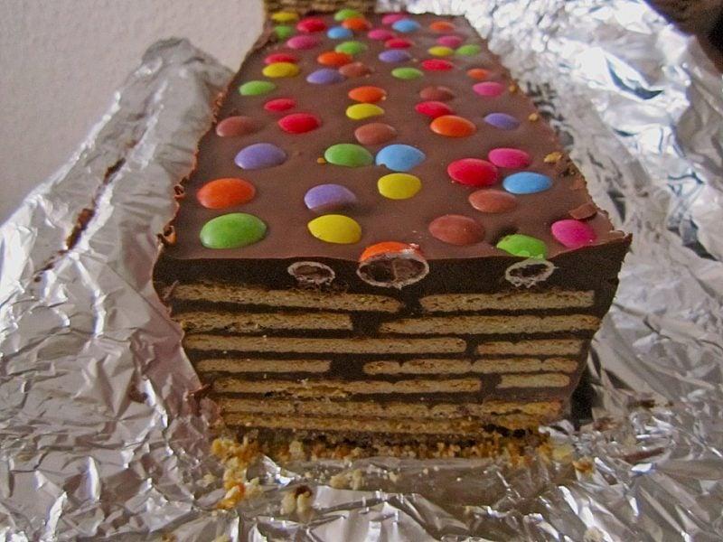 lustige torten schokolade