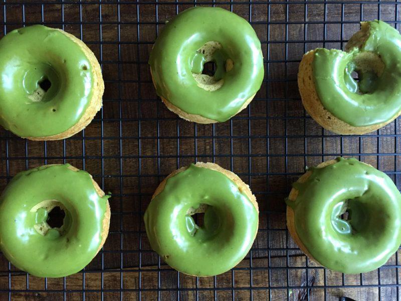 Matcha Rezepte Donut