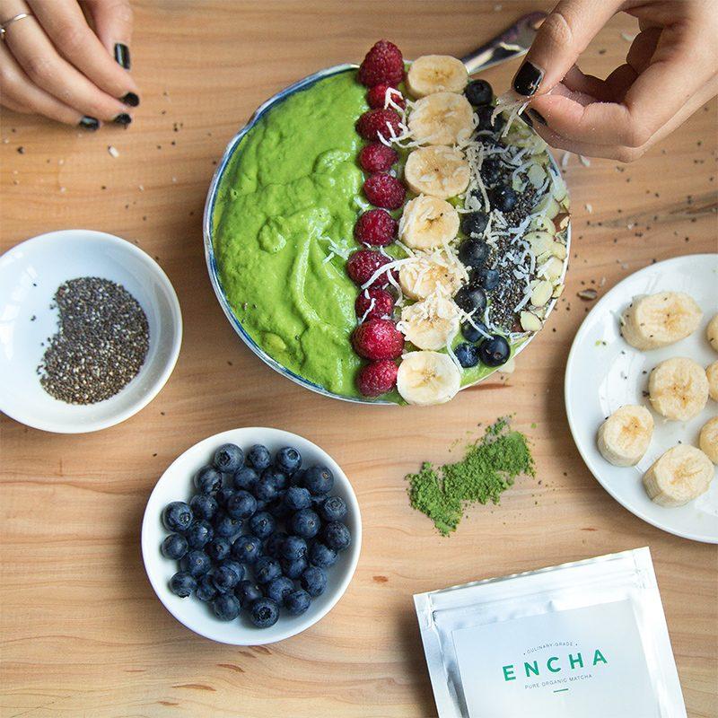 Matcha Rezepte Fruchtstück