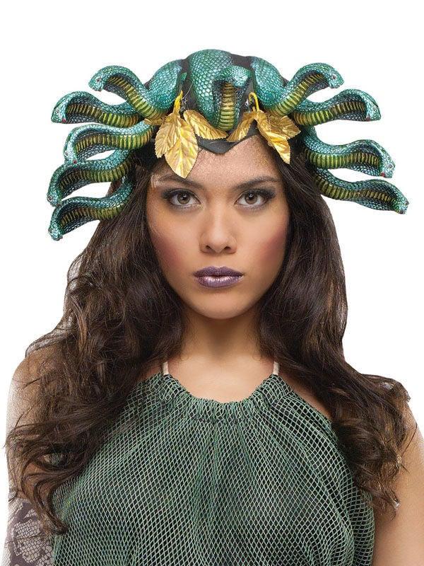 medusa kostüm schlangen