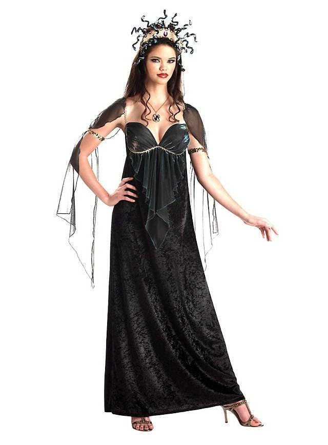 medusa kostüm gruselig