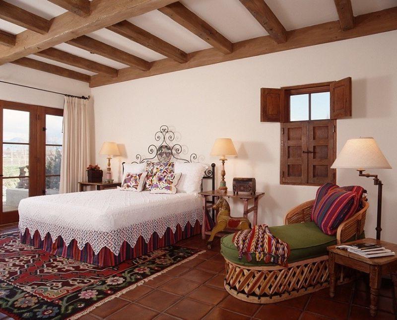 Mexikanische Möbel Bett