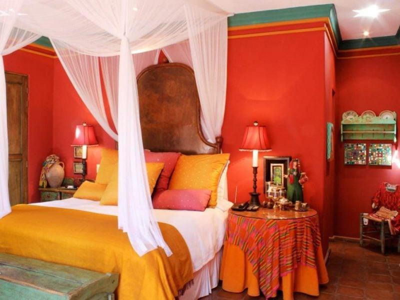 Mexikanische Möbel Schlafzimmer Idee