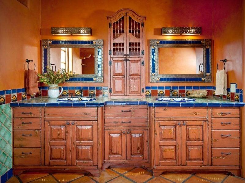 Mexikanische Möbel Badezimmer