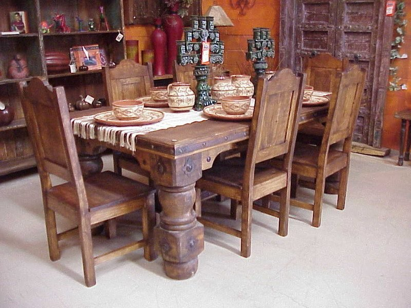 Mexikanische Möbel Holz
