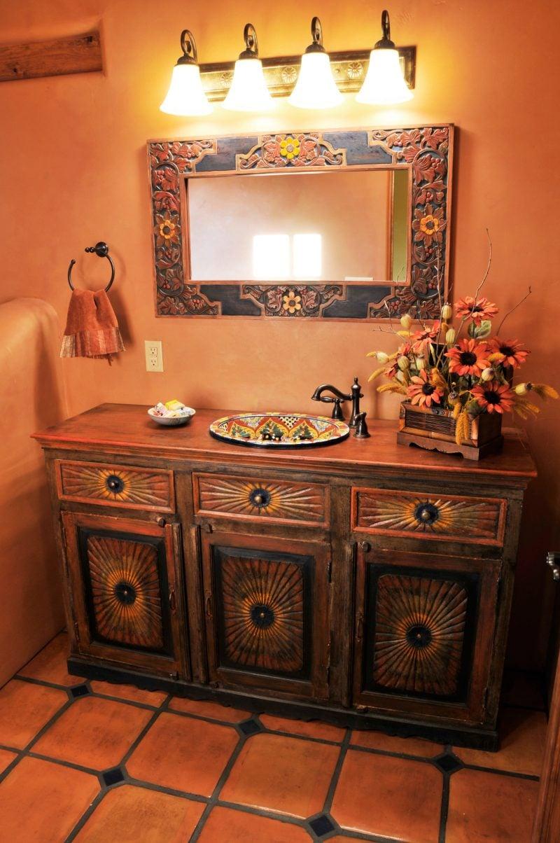 Mexikanische Möbel Toilette