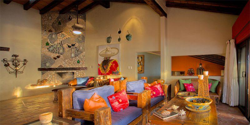 Mexikanische Möbel Wohnraum