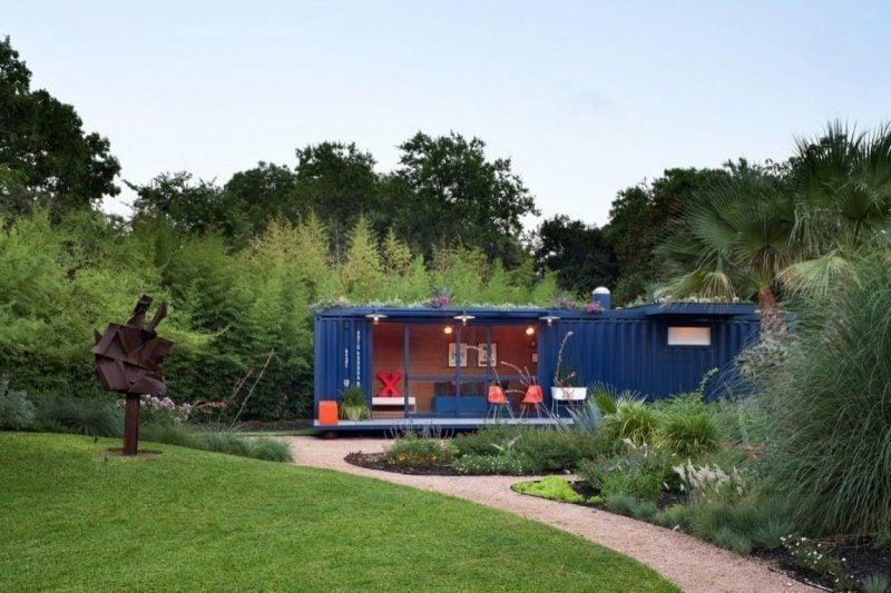 Container Wohnung modernes Design