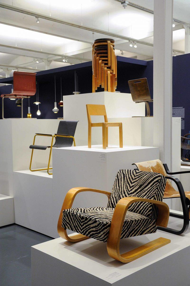 Möbeldesigner Aalto Stühle