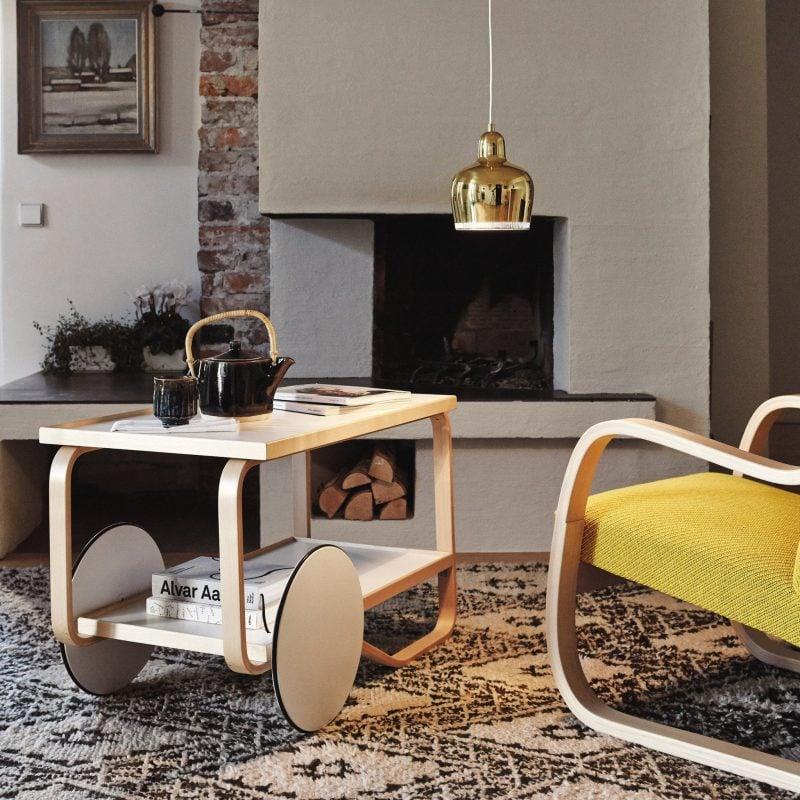 Möbeldesigner Alvar Aalto Tisch
