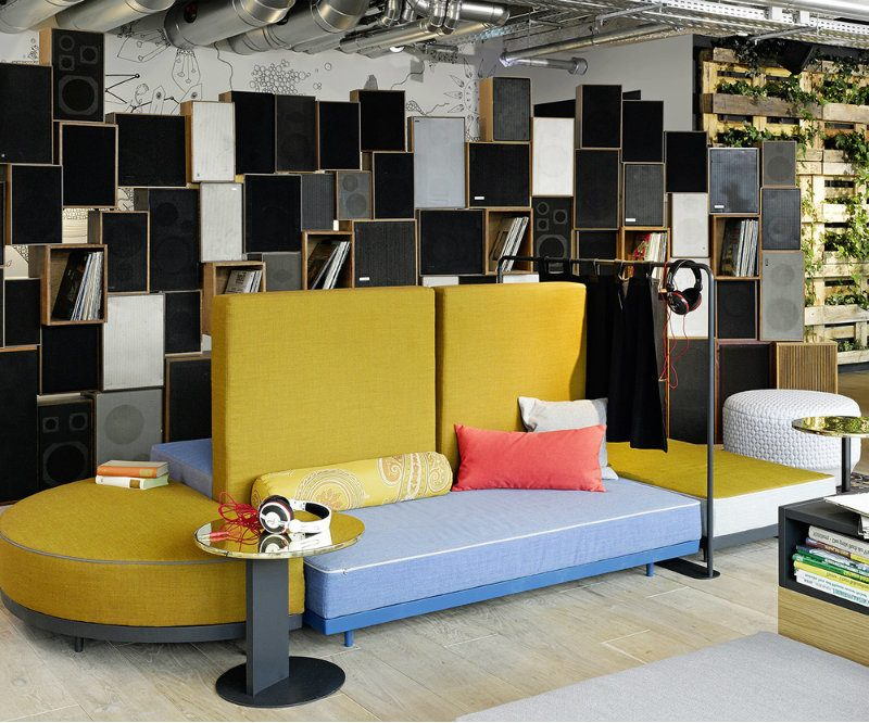 Möbeldesigner Asslinger Sofa