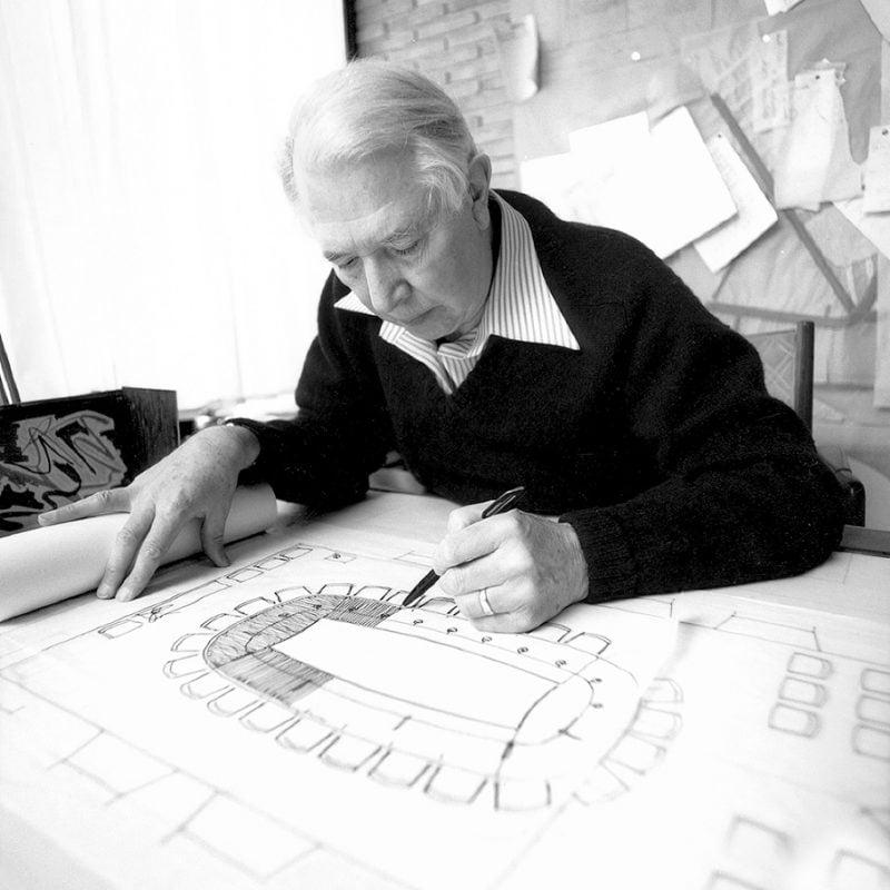 Möbeldesigner Hans Wagner