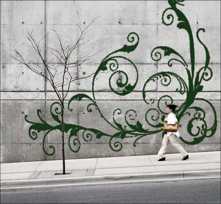 Moos Graffiti Art