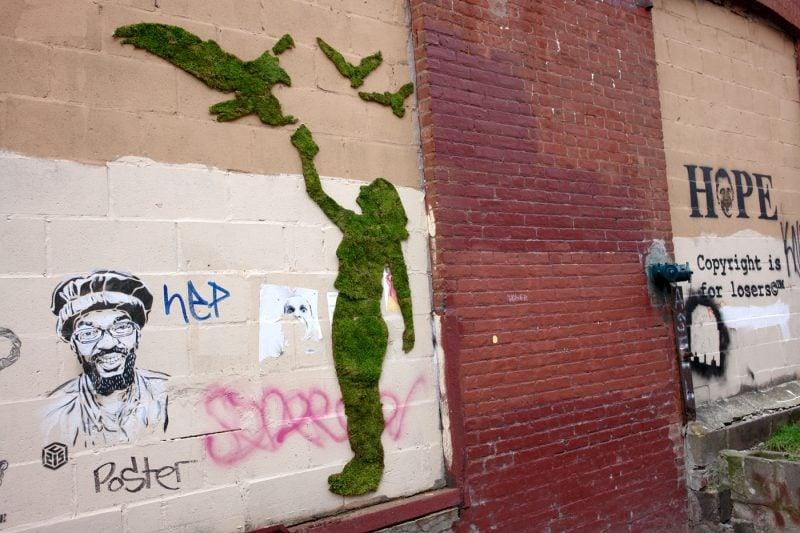 Moos Graffiti Design