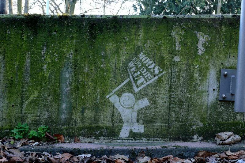 Moos Graffiti Ideen