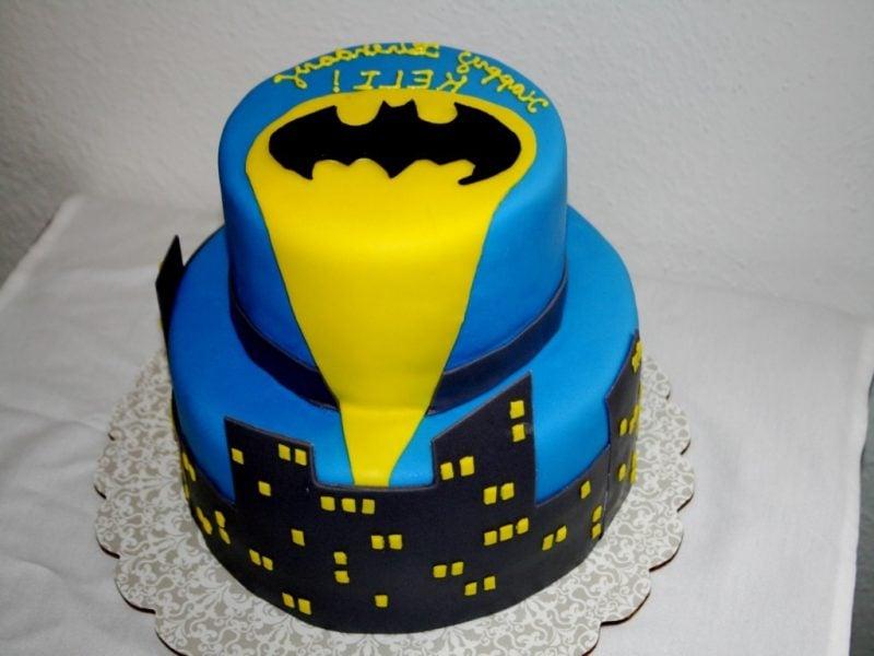Motivtorten selber machen Batman