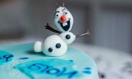 Frozen Torte Motivtorten selber machen