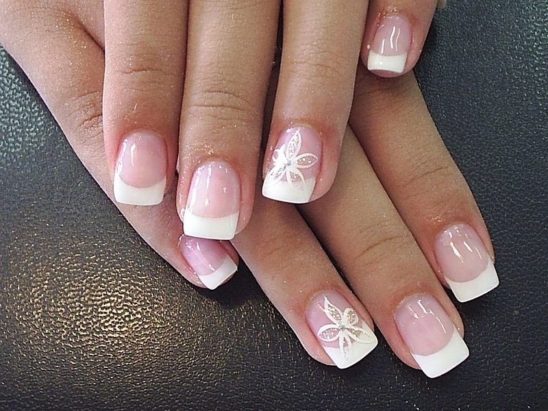 Nageldesign French Idee