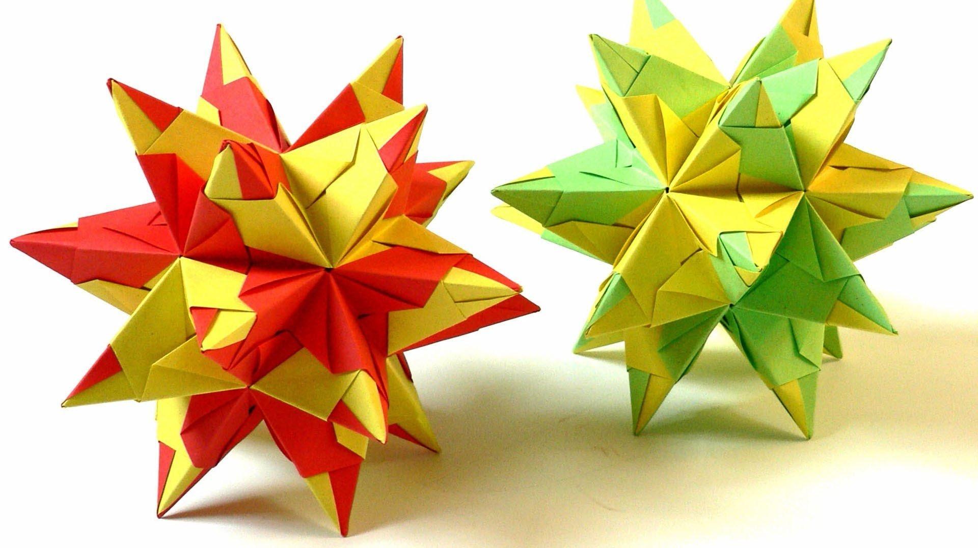 Origami Sterne Simple Anleitung Fr Anfnger Deko