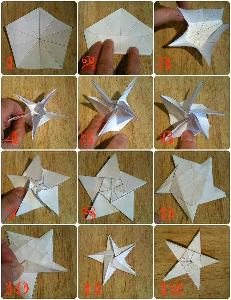 origami sterne anleitung