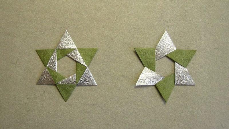 origami sterne simple anleitung f r anf nger deko. Black Bedroom Furniture Sets. Home Design Ideas