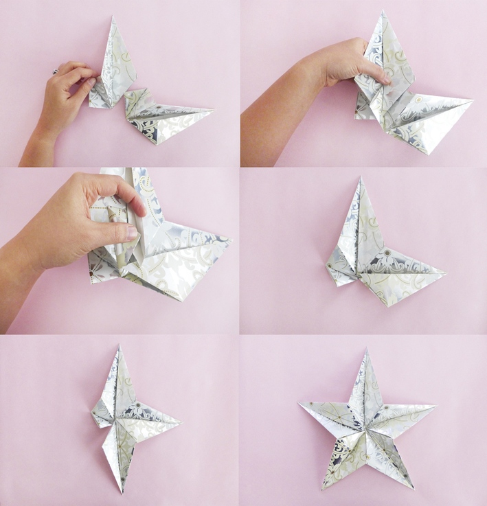 origami sterne originell
